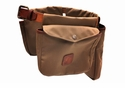 White Wing Canvas & Leather Game Bird Belt (Tan)