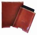 White Wing Leather Touch Pad Sleeve (Fits iPad)