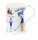 Dunoon Mug - How to Golf Mug 11.1 Oz.
