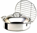 All-Clad 6 QT French Braiser with Stainless Rack