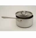 All Clad MC2 3.5 Quart Sauce Pan with Lid