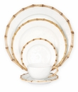 Juliska Dinnerware Classic Bamboo 5 Piece Setting: KM01-KM05 - Natural