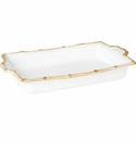 Juliska Classic Bamboo Rectangular Baker Natural