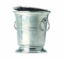 Match Italian Pewter Ice Bucket with Lid