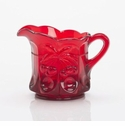 Mosser Glass Cherry Creamer Pitcher - Red