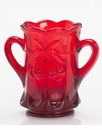 Mosser Glass Cherry Spooner - Red