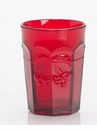 Mosser Glass Cherry Tumbler - Red