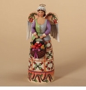 Jim Shore Williamsburg Angel Christmas Bounty Figurine