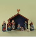 Jim Shore 9 Piece Mini Nativity Set