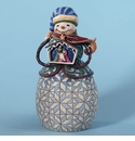 Jim Shore Share the Story of Christmas Nativity Snowman Figurine
