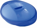Orka Round Silicone Steam Cooker 27 Oz. Blue