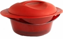 Orka Multi Level Steam Cooker Red