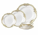 Spode Stafford White 5 Piece Place Setting