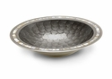 "Julia Knight Classic 15"" Round  Bowl - Platinum"