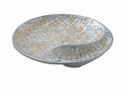 "Julia Knight Classic 13"" Yin Yang Bowl  - Mother of Pearl"