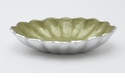 "Julia Knight Peony 8"" Oval Bowl - Kiwi"
