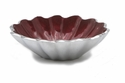 "Julia Knight Peony 5"" Oval Bowl - Pomegranate"