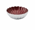 "Julia Knight Peony 8.5"" Round Bowl - Pomegranate"