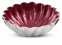 "Julia Knight Peony 6"" Round Bowl - Pomegranate"