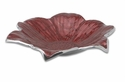 "Julia Knight Lily 12"" Shallow Bowl - Pomegranate"
