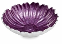 "Julia Knight Aster 8"" Bowl - Amethyst"