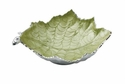 "Julia Knight Grape Leaf 17"" Bowl - Kiwi"
