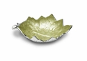 "Julia Knight Grape Leaf 13"" Bowl - Kiwi"