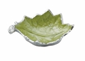 "Julia Knight Grape Leaf 7"" Bowl - Kiwi"