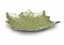 "Julia Knight Grape Leaf 17"" Platter - Kiwi"