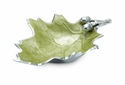 "Julia Knight Oak Leaf 13"" Bowl - Kiwi"