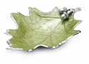 "Julia Knight Oak Leaf 15"" Bowl - Kiwi"