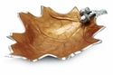 "Julia Knight Oak Leaf 15"" Bowl - Spice"
