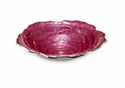 "Julia Knight Roses 4"" Bowl - Raspberry"