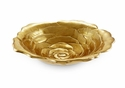 "Julia Knight Roses 15"" Bowl - Gold"
