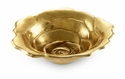 "Julia Knight Roses 8"" Bowl - Gold"