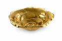 "Julia Knight Roses 4"" Bowl - Gold"