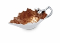 Julia Knight Oak Leaf Sauce Boat - Spice