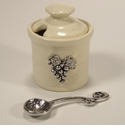 Crosby & Taylor (Tin Woodsman) Whipping Cream Vineyard Petite Salt Pot