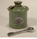 Crosby & Taylor (Tin Woodsman) Pistachio Dragonfly Petite Salt Pot