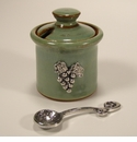 Crosby & Taylor (Tin Woodsman) Pistachio Vineyard Petite Salt Pot