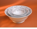 Pillivuyt Porcelain Brasserie Footed Salad Bowl