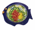 "Skyros Designs Mediterranean Fish Soup Bowl 7.9"" x 7.5"" x 2.2"" - Fruit"