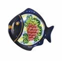 "Skyros Designs Mediterranean Small Fish Plate 6.6"" x 6.1"" - Fruit"