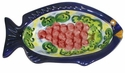 "Skyros Designs Mediterranean Fish Olive Bowl 7.9"" x 4.5"" x 1.8"" - Fruit"