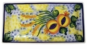 "Skyros Designs Mediterranean Rectangular Tray 13.5"" x 7"" - Wheat"