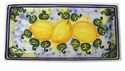 "Skyros Designs Mediterranean Rectangular Tray 13.5"" x 7"" - Lemon"