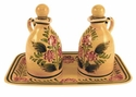 "Skyros Designs Mediterranean Cruet Set 10.75"" x 6.75"" x 6.75"" - Greek Urn"