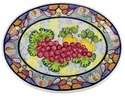"Skyros Designs Mediterranean Large Oval Platter 19"" x 14.5"" - Fruit"