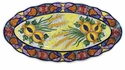 "Skyros Designs Mediterranean Large Oval Platter 19"" x 14.5"" - Wheat"