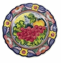 "Skyros Designs Mediterranean Dinner Plate 12.5"" - Fruit"